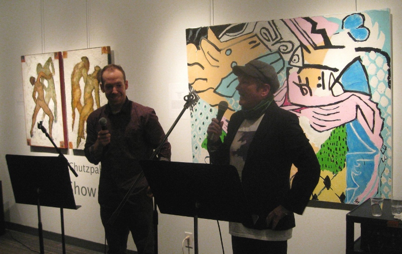 Chutzpah Opening Reception Talk  5 with Shay Keubler Feb '15 (800x506)